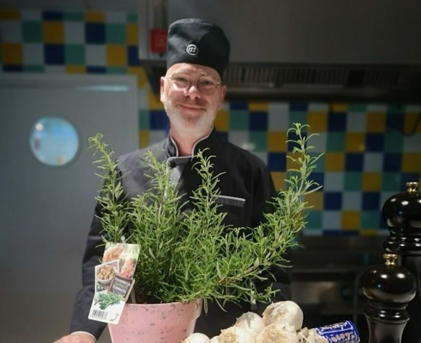 Meet Luc, chef of The Greenery and The Velvet Corner, restaurants in Greenhouse BXL