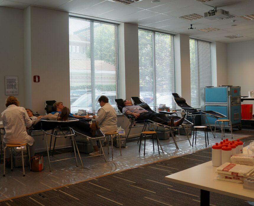 Bloeddonatie in Greenhouse Mechelen