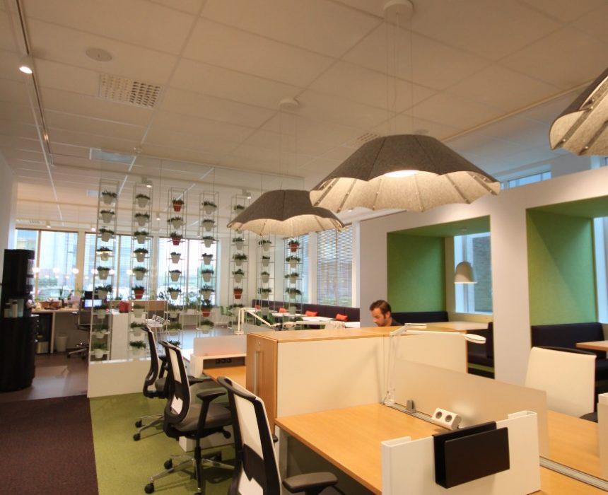 Groene werkomgeving in Greenhouse Mechelen