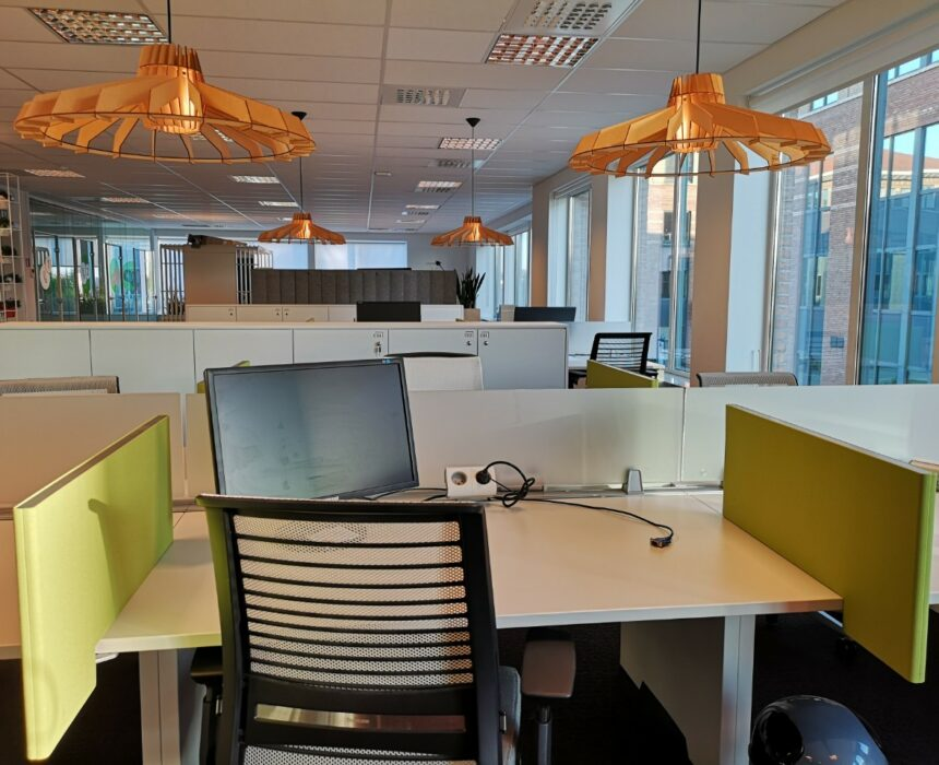 Co-working space in Greenhouse Mechelen