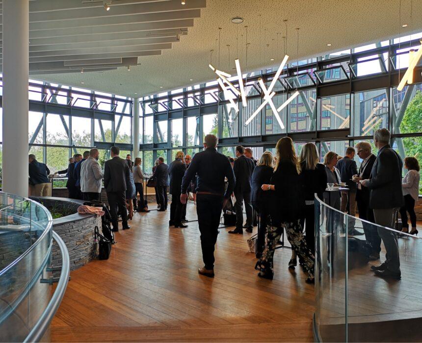 Een evenement in reception lounge van Greenhouse BXL