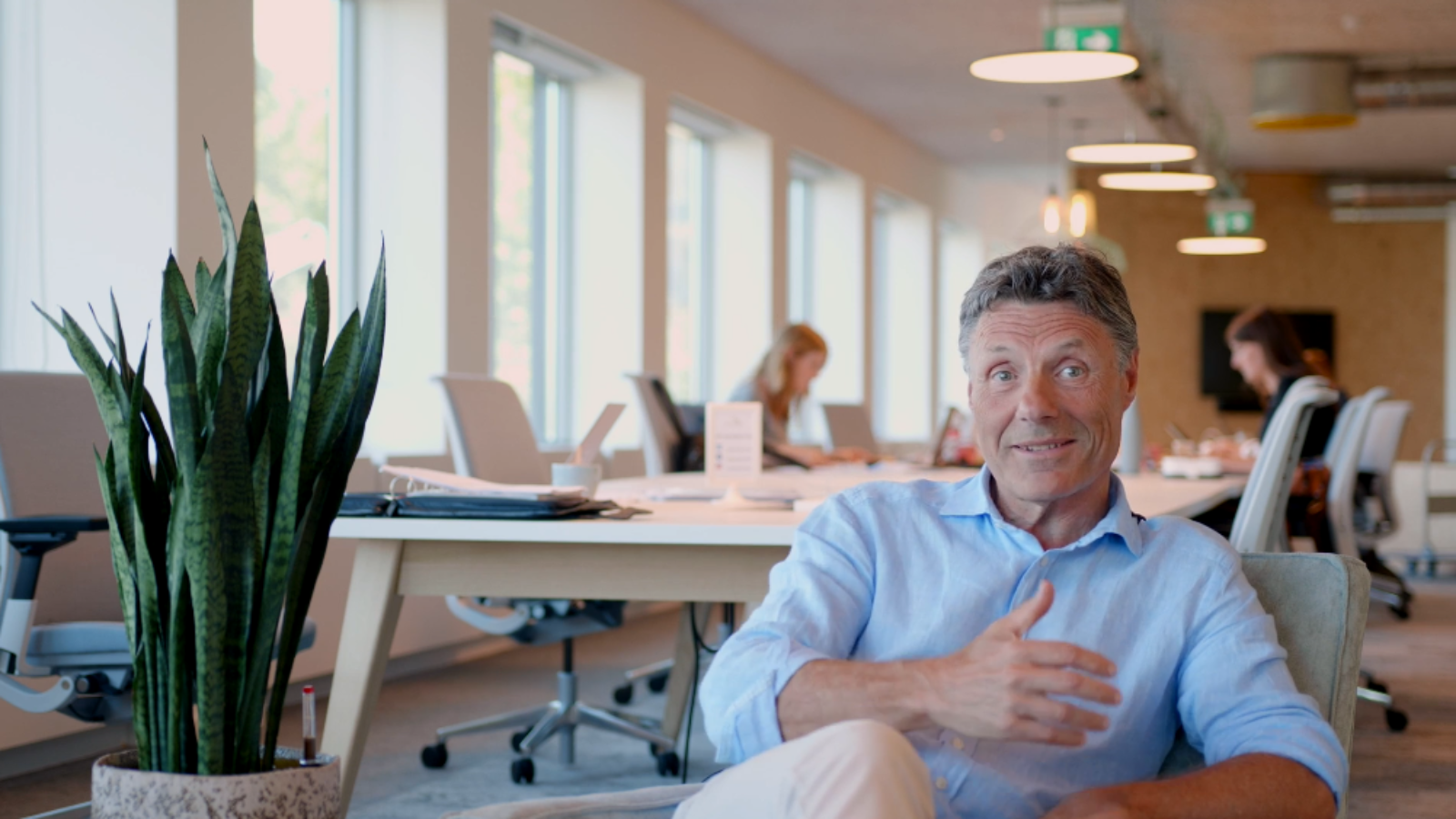 Interview met Jan Laurens, een co-worker in Greenhouse BXL