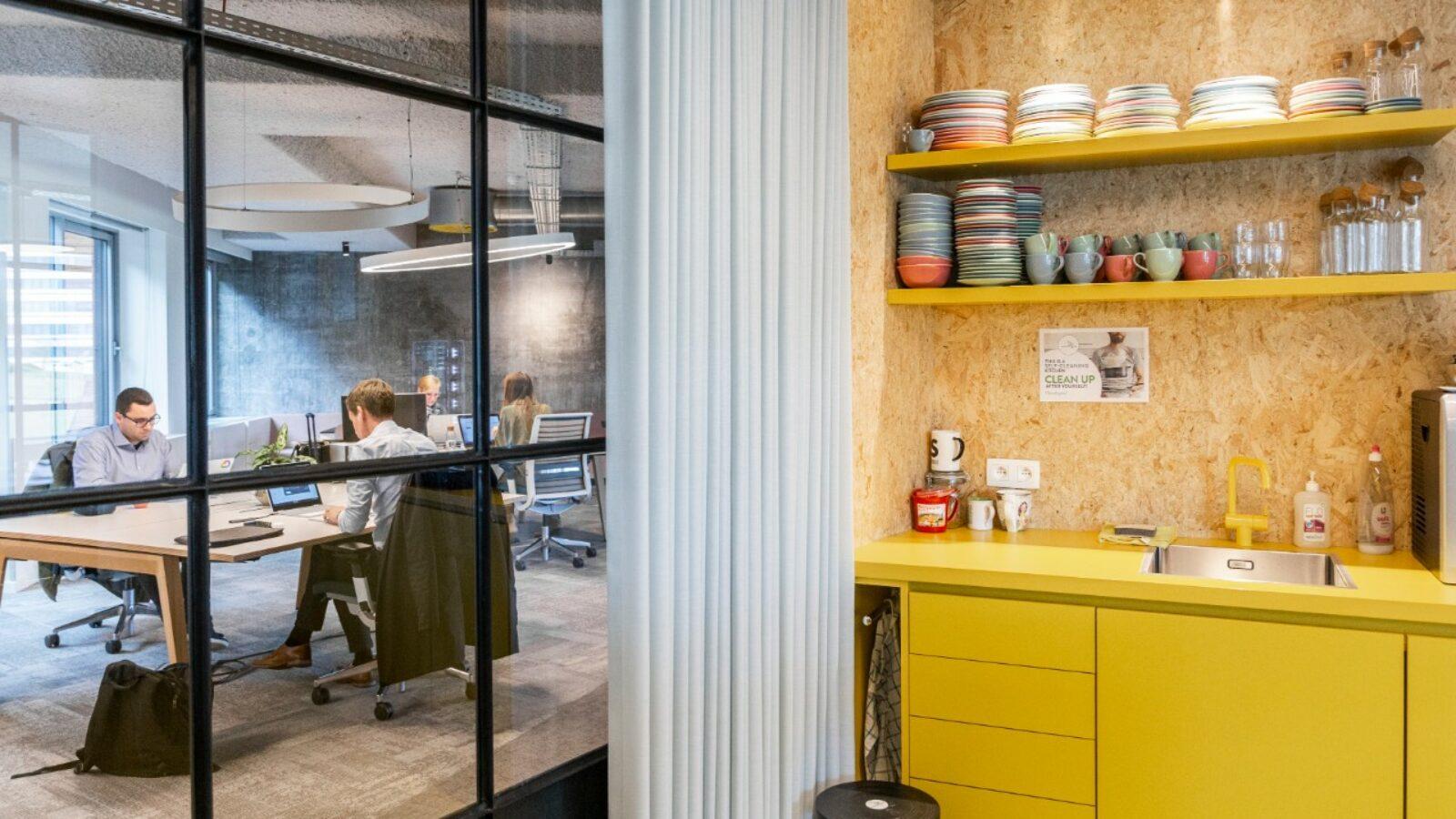 Greenhouse BXL coworkingruimte met keuken