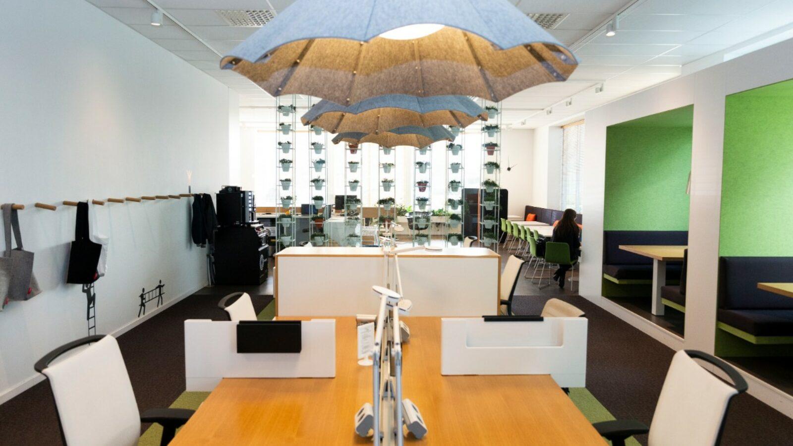 Coworkingruimte in Greenhouse Mechelen