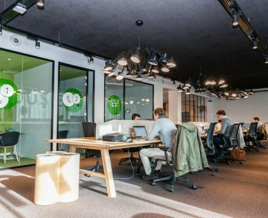 Coworkingruimte in Greenhouse Antwerp