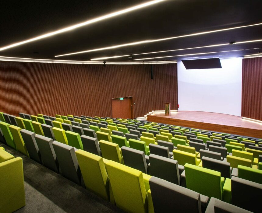 The auditorium in Greenhouse BXL