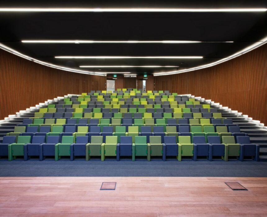 Evenementenruimte auditorium in Greenhouse BXL