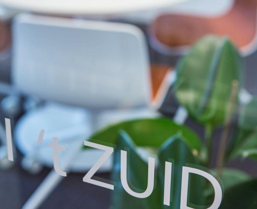 De meetin groom 't Zuid in Greenhouse Antwerp