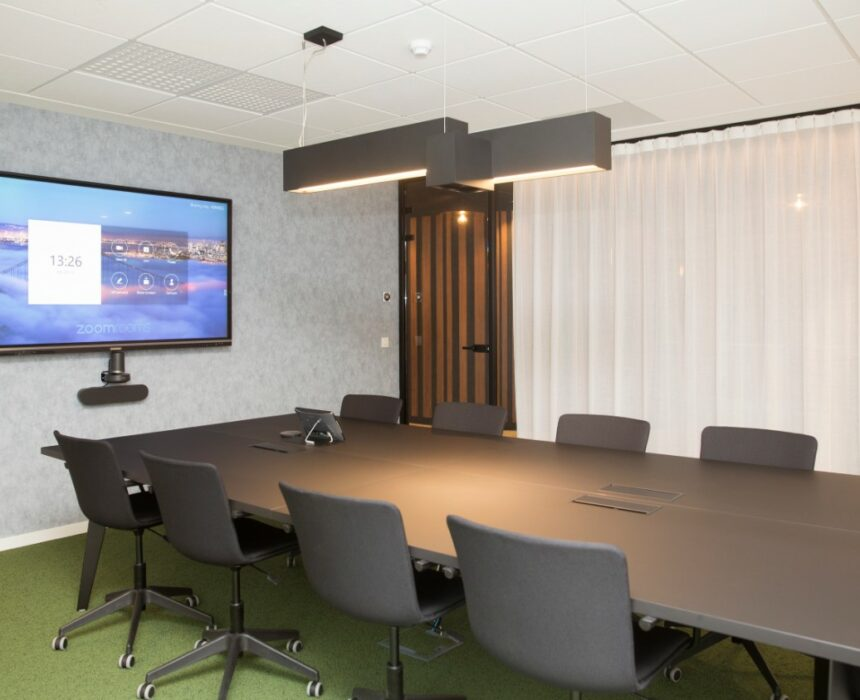 The Edison meeting room in Greenhouse BXL