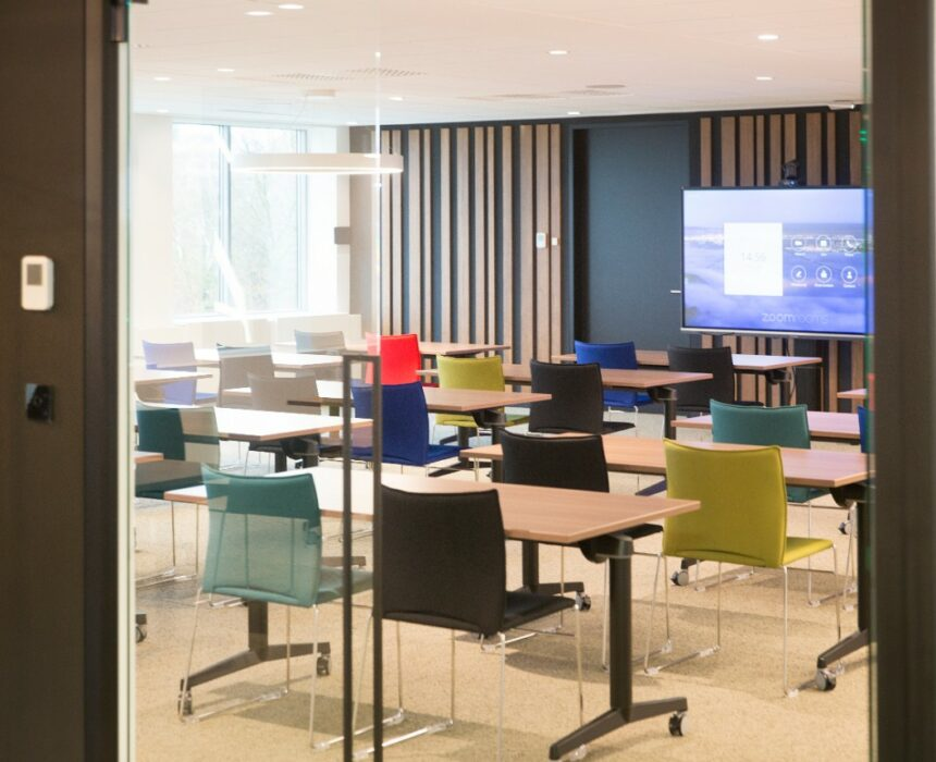 the Newton conference room in Greenhouse BXL