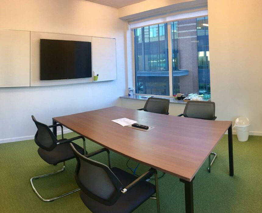 An overview of the Afero meeting room
