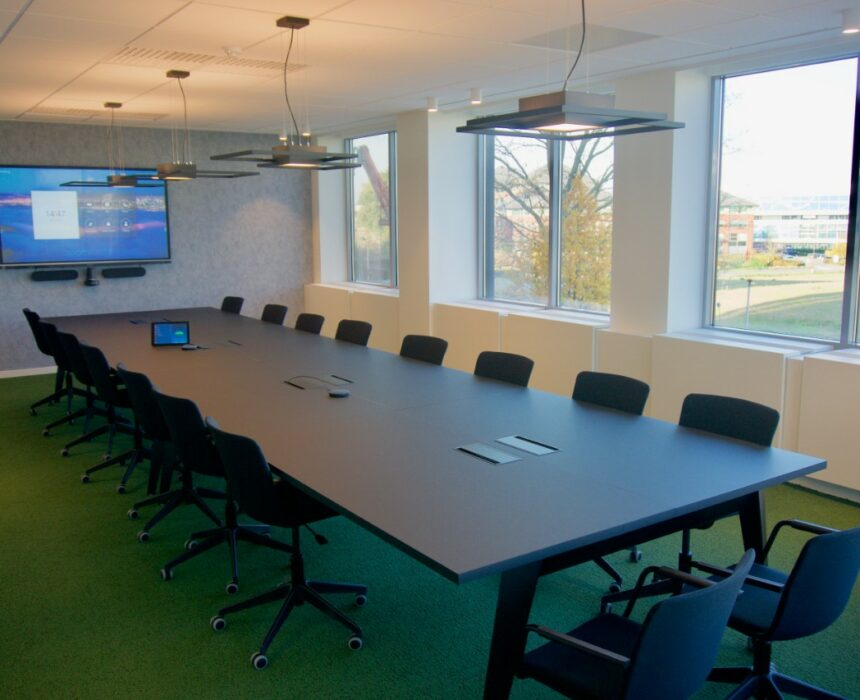 Hawking is a spacious meeting room in Greenhouse BXL