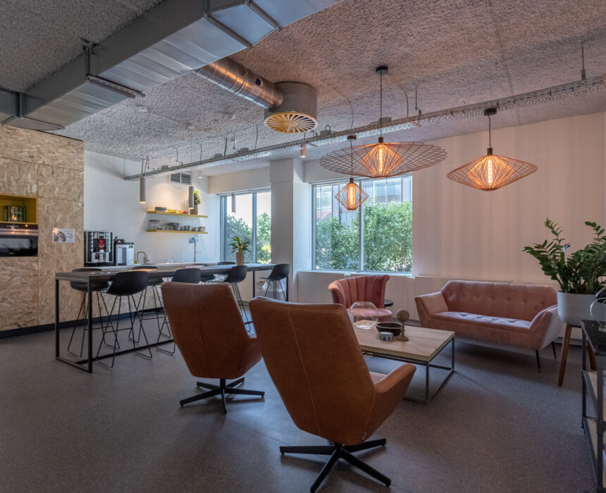 Interieur in Greenhouse BXL