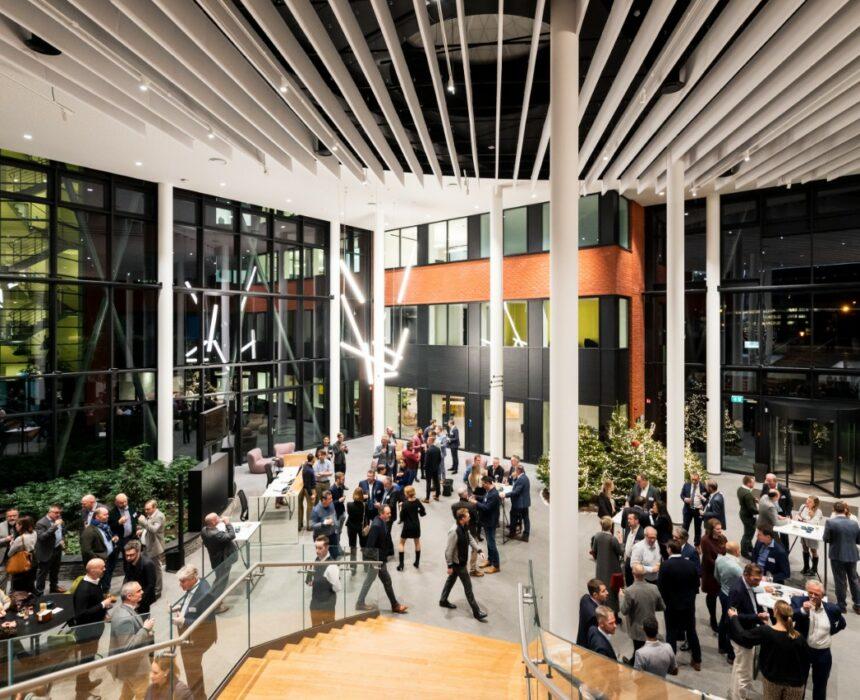 Atrium event space in Greenhouse BXL