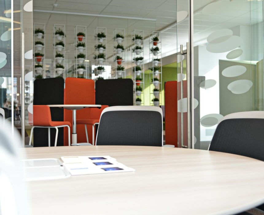 The Efika meeting room in Greenhouse Mechelen