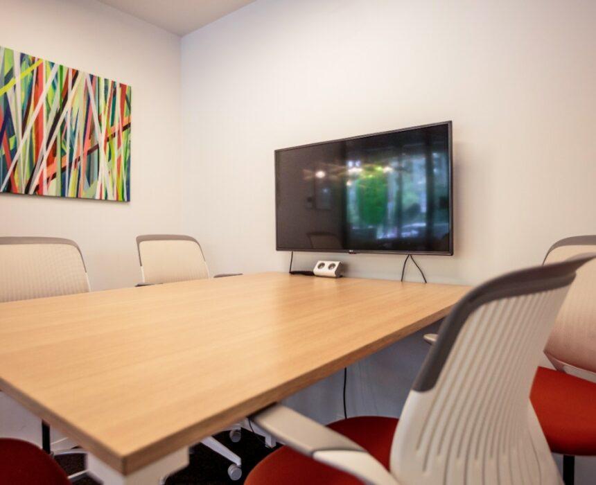 An overview of the Waalse Kaai meeting room