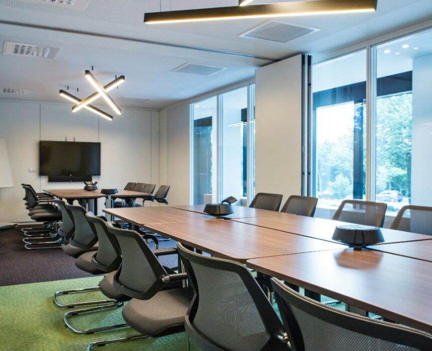 't Scheld meeting room is located in Greenhouse Antwerp