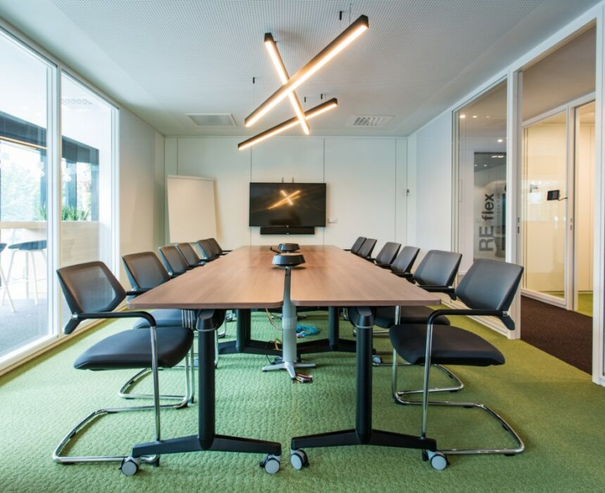 't Scheld meeting room in Greenhouse Antwerp