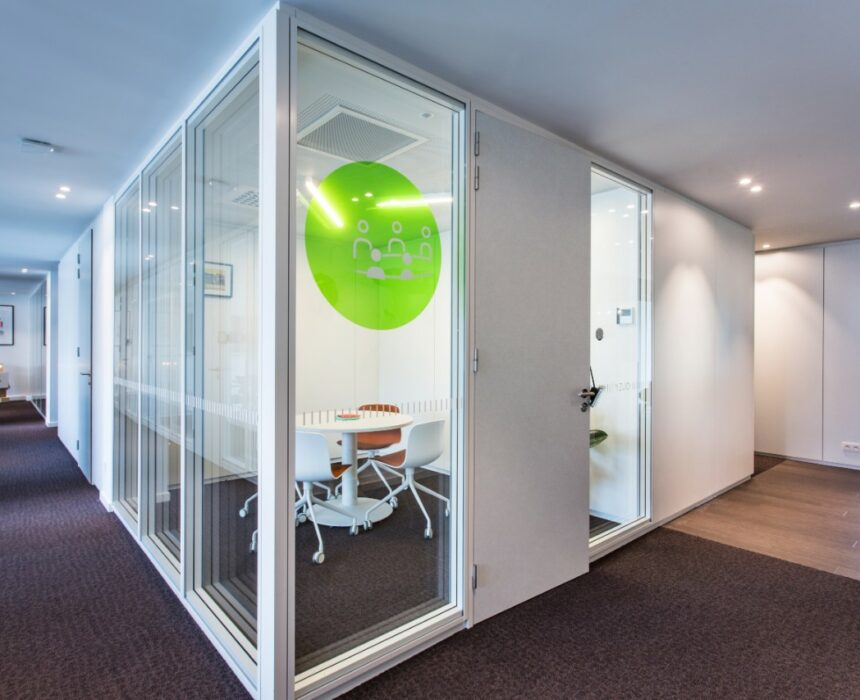 t' Zuid meeting room in Greenhouse Antwerp