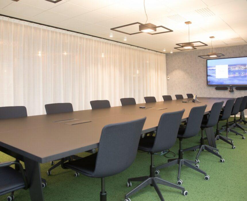 The Hawking meeting room in Greenhouse BXL