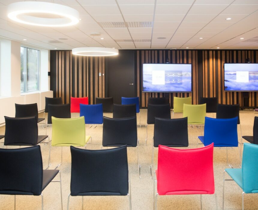 The Newton meeting room in Greenhouse BXL