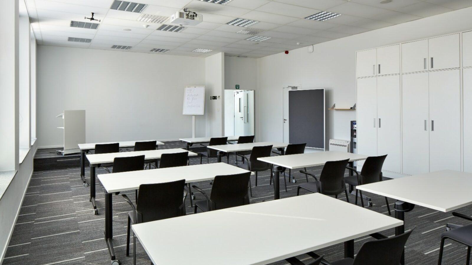 An overview of the Novigo meeting room in Greenhouse Mechelen