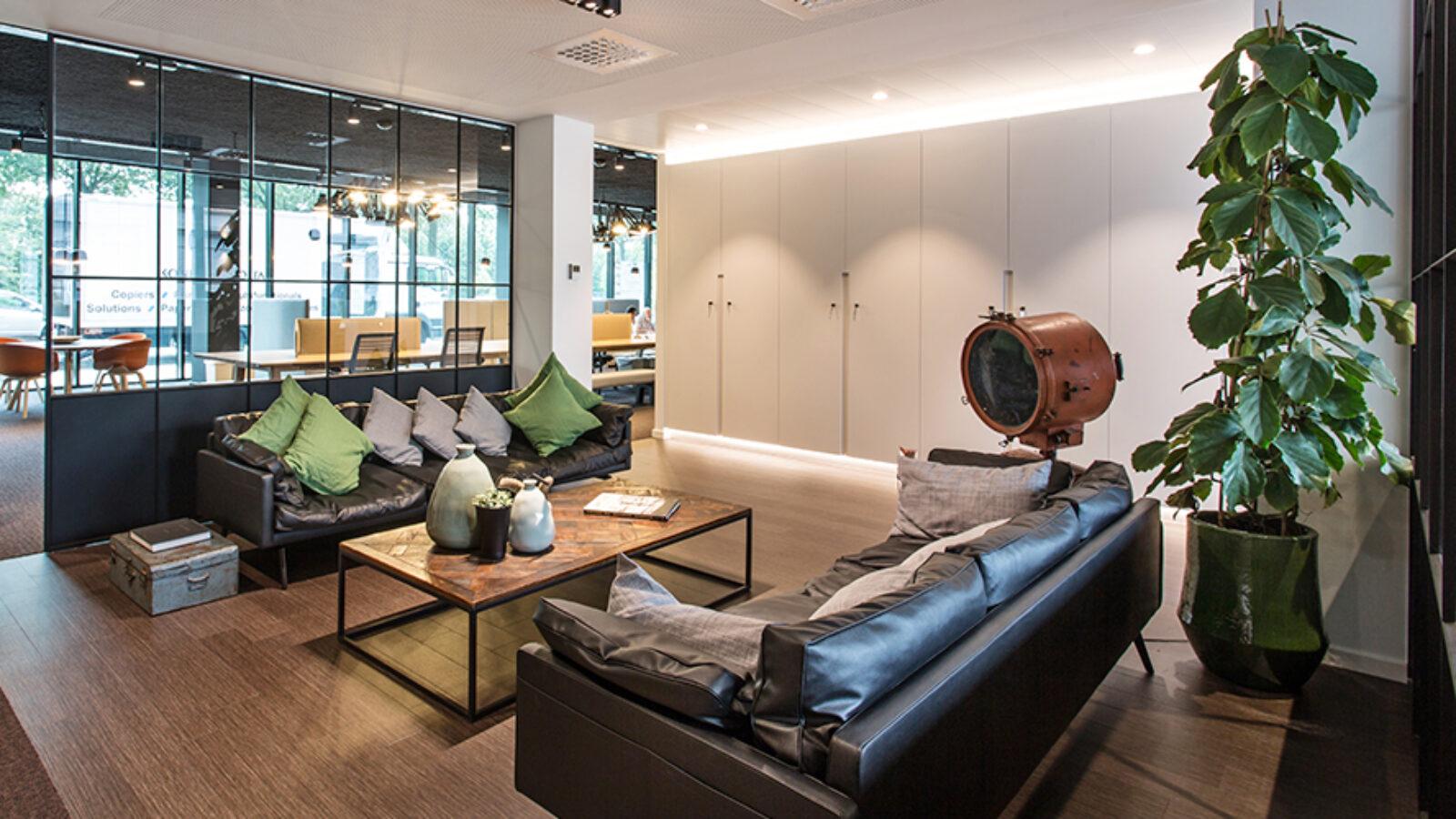 Lounge in Greenhouse Antwerp