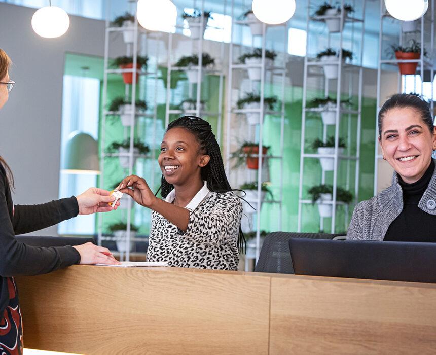 Hospitality assistants of Greenhouse Mechelen