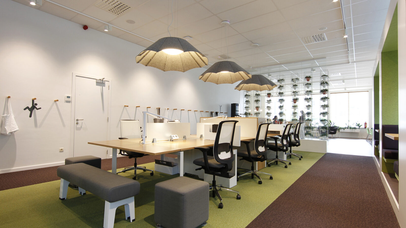 Coworking space in Greenhouse Mechelen