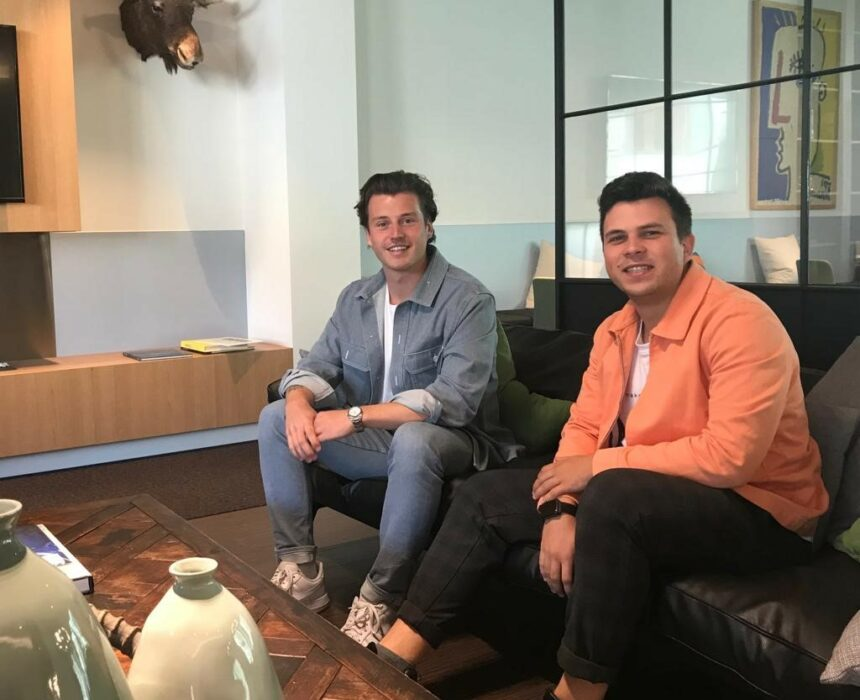 Jonge ondernemers – Robin & Jasper