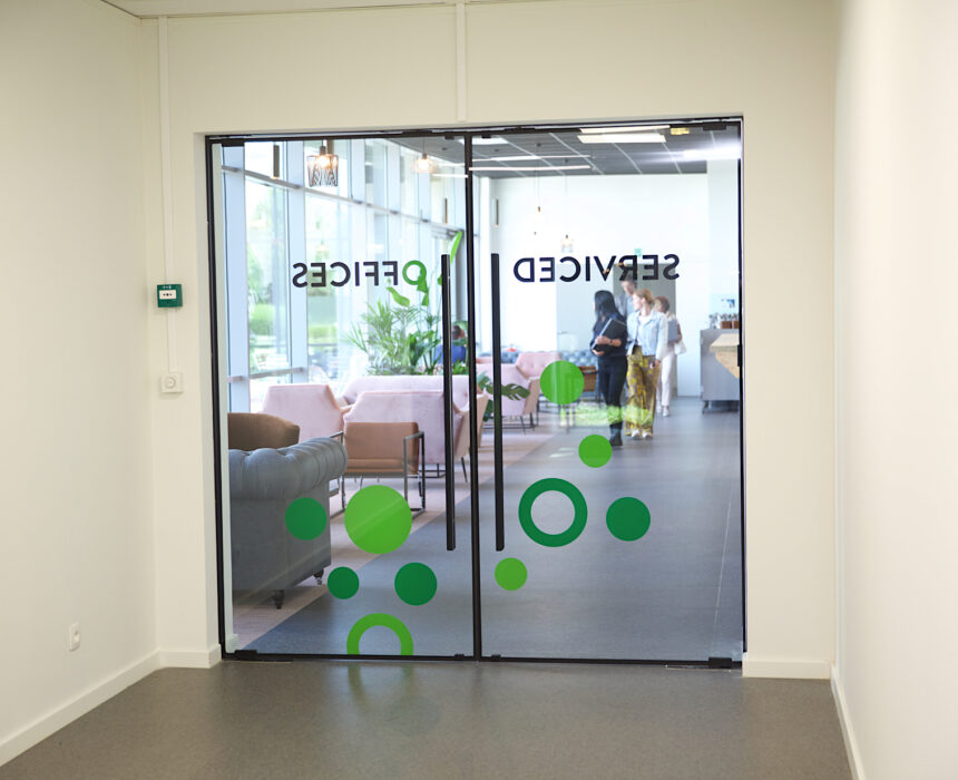 Entree serviced offices