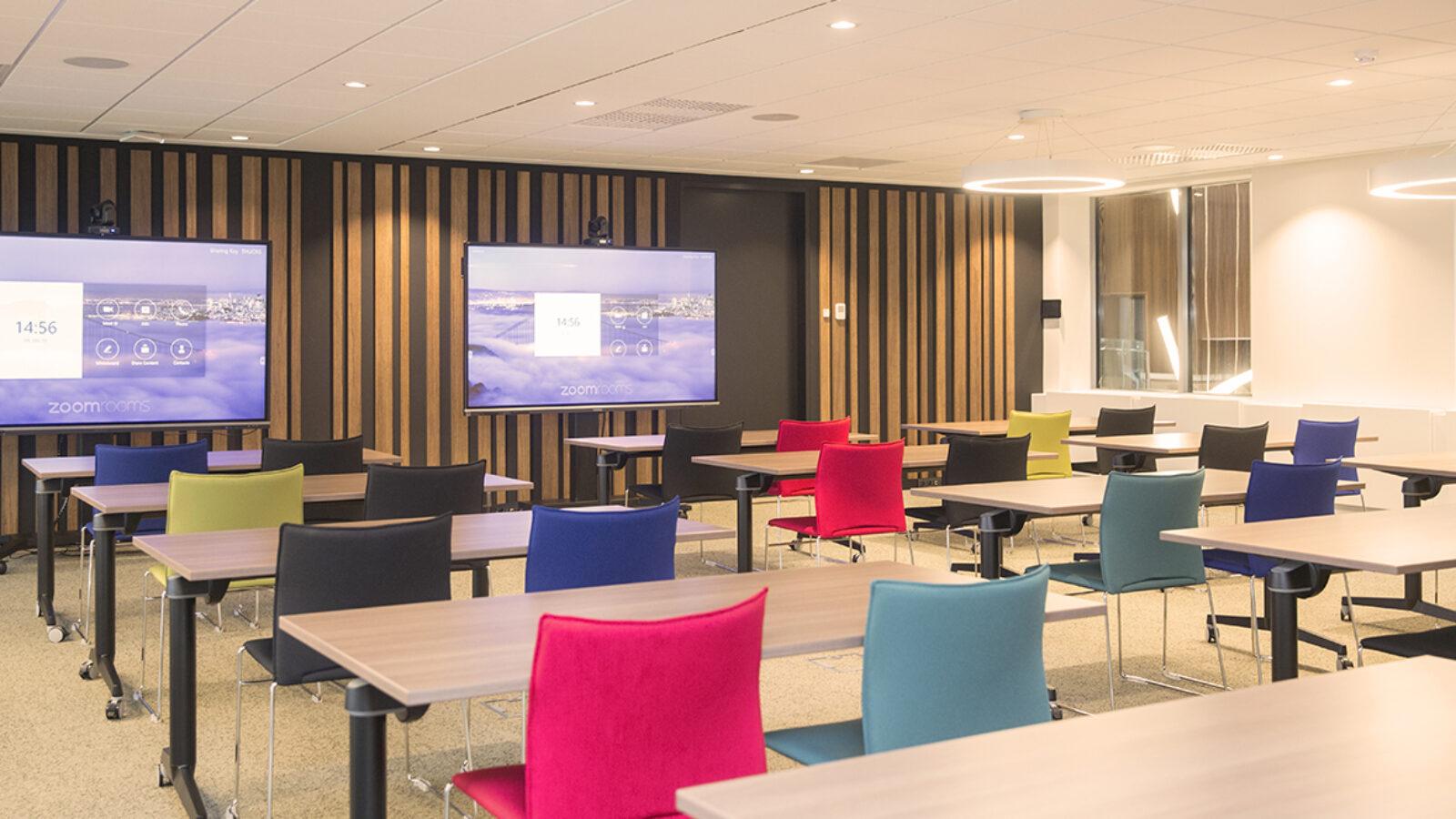 Flexible meeting rooms in Greenhouse BXL