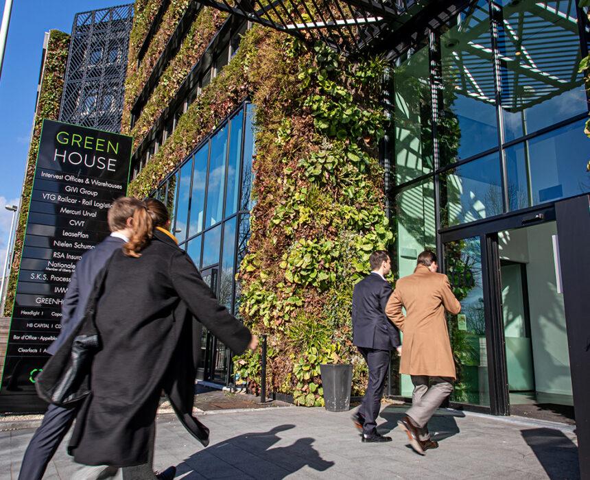 Greenhouse Antwerp entry