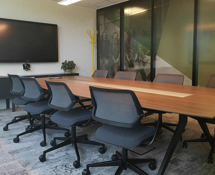 CCR meeting room in Greenhouse BXL