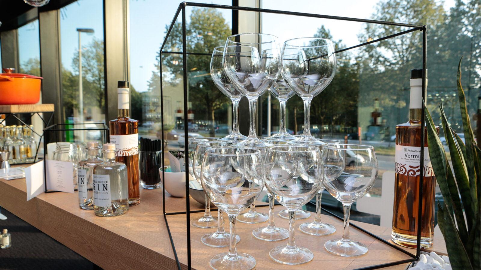 Event in greenhouse Antwerp
